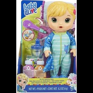 Baby Alive mix my baby medicine new in box